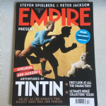 Empire Magazine December 2010 issue 258 Adventures of Tintin